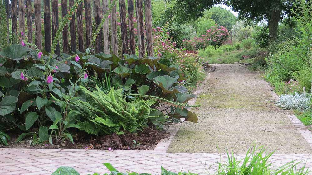 American Garden seen from Tank Garden