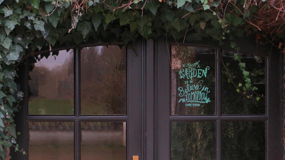 Entrance house Viller the Garden